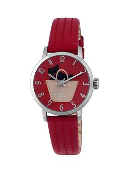 radley-border-pocket-dog-watch-with-stainless-steel-case-and-ruby-genuine-leather-strap