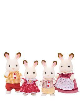 Sylvanian Families Sylvanian Families Chocolate Rabbit Family Picture