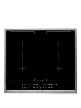 Aeg Hk654400Xb BuiltIn Induction Hob  Black