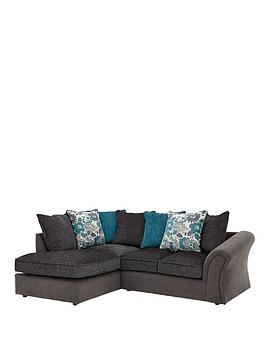 Very Celina Left Hand Compact Corner Chaise Sofa Picture