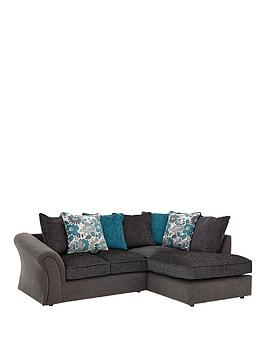 Very Celina Right Hand Compact Corner Chaise Sofa Picture