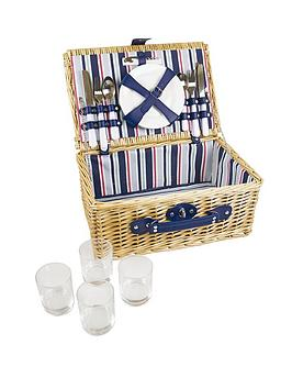 yellowstone-4-person-wicker-picnic-basket