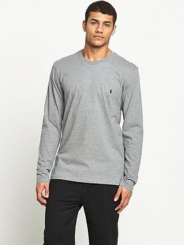 Polo Ralph Lauren Mens Long Sleeve Crew Tee