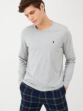Polo Ralph Lauren   Long Sleeved Lounge T-Shirt - Heather Grey