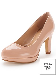 so-fabulous-matilda-extra-wide-fit-platform-court-shoes-nude
