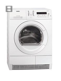 aeg-t76280ac-8kg-load-condenser-sensor-dryer-white
