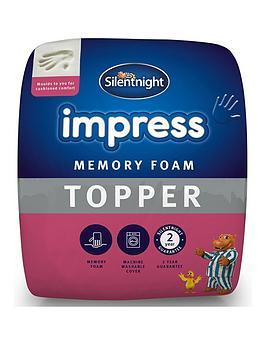Silentnight Silentnight Impress 5Cm Memory Foam Mattress Topper Picture