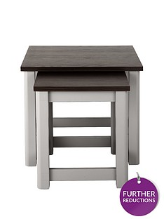 consort-tivoli-ready-assembled-nest-of-2-tables-greywalnut-effect-5-day-express-delivery