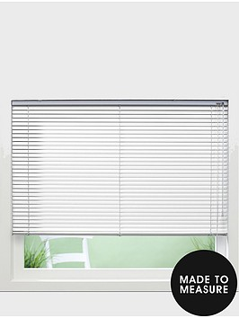 made-to-measure-25mm-aluminium-perforated-venetian-blinds-white
