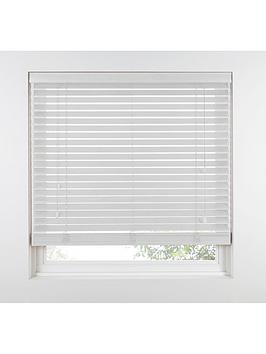 Very Made To Measure 35 Mm Wooden Venetian Blinds - Polar Picture