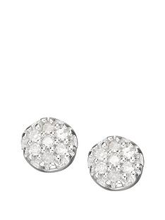 love-diamond-9-carat-white-gold-diamond-set-cluster-earrings