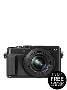 panasonic-lumix-dmc-lx100-ebknbspcompact-digital-camera-4k-ultra-hd-128-megapixel-31x-optical-zoom-evf-3-inchnbsplcdnbspscreen-black