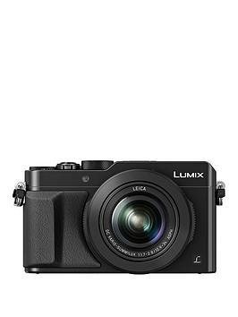 Panasonic Lumix DmcLx100 Ebk Compact Digital Camera 4K Ultra Hd 12.8 Megapixel 3.1X Optical Zoom Evf 3 Inch Lcd Screen  Black