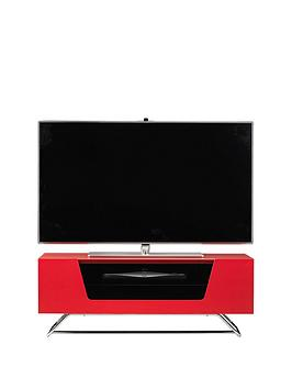 alphason-chromium-tv-stand-fits-up-to-46-inch-tv-red