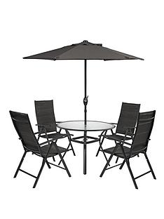 seville-6-piece-round-dining-set-black