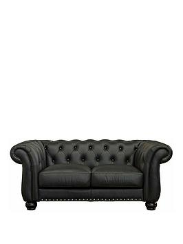 Very Bakerfield 2 Seater Leather Sofa Picture