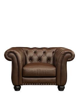 Very  Bakerfield Leather Armchair