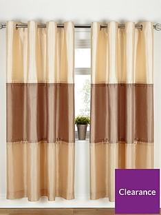 Panel Stripe Eyelet Curtains