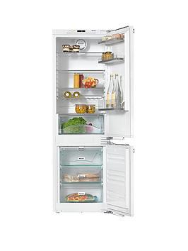 Miele Kfn 37432 Id Integrated Fridge Freezer  White