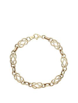 Love GOLD Love Gold 9 Carat Yellow Gold Celtic Bracelet Picture