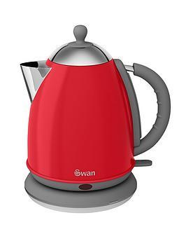 swan-vintage-jug-retro-kettle-red