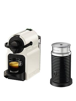Nespresso Inissia Xn101140 Coffee Machine With Milk Frother By Krups  White