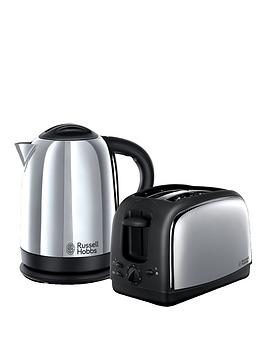 Russell Hobbs Russell Hobbs Lincoln Kettle And Toaster Twin Pack - 21830 Picture