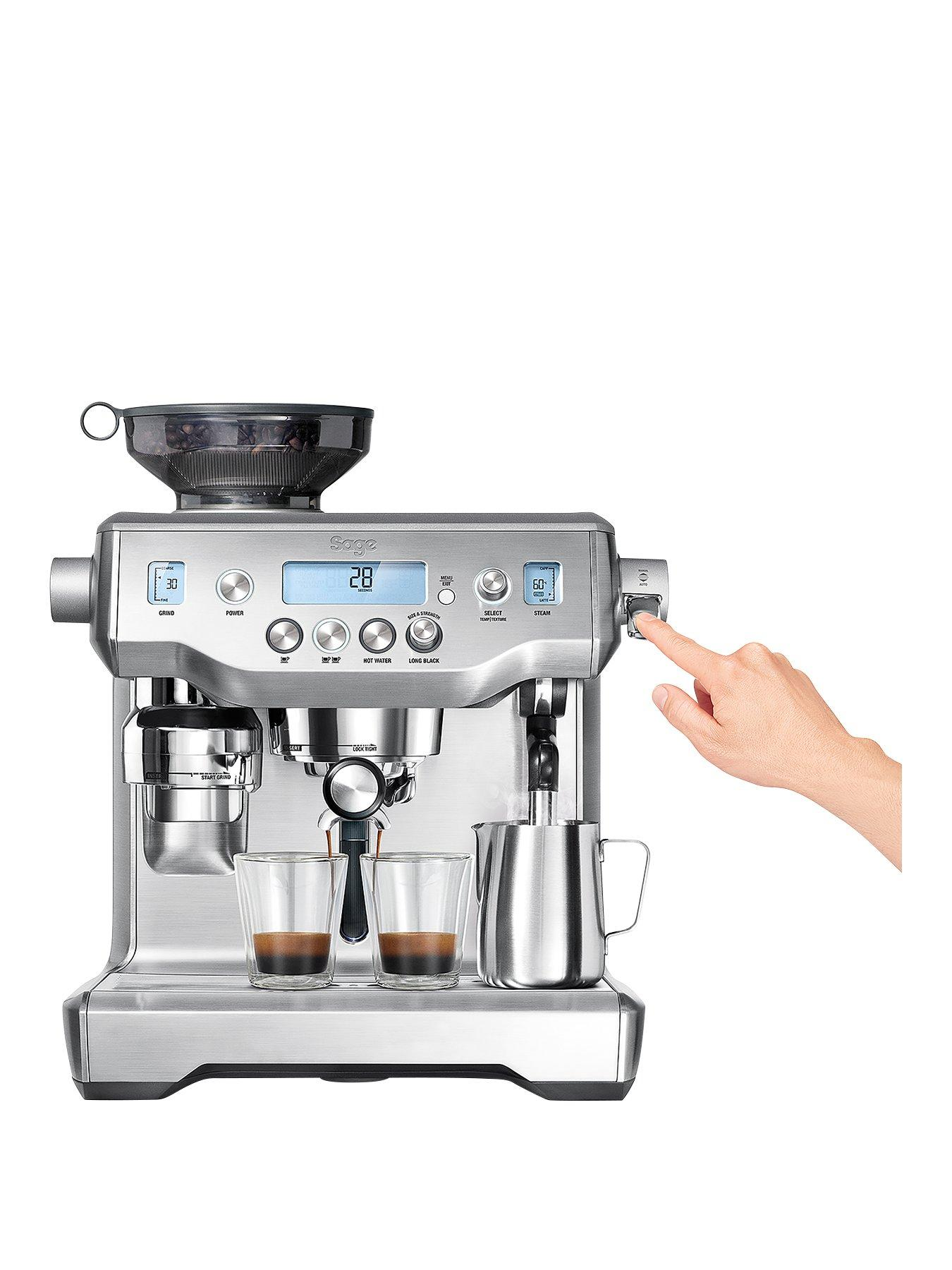 Amazing Sage By Heston Blumenthal BES980UK The Oracle Coffee Machine Good Ideas