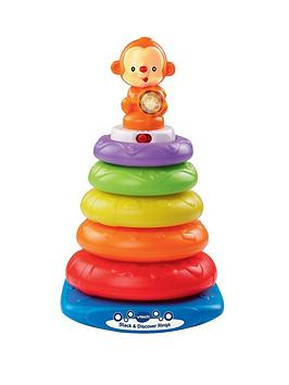Vtech Vtech Stack And Discover Rings Picture