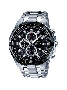 casio-edifice-stainless-steel-black-dialnbspchronograph-mens-watch