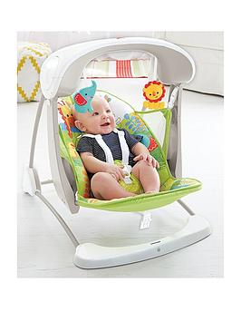 Fisher-Price Fisher-Price Rainforest Friends Takealong Swing Picture