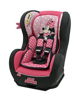 Minnie Mouse Disney Cosmo SP Luxe Group 0 1 2 Car Seat