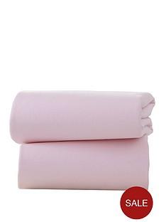 ladybird-pack-of-2-flat-jersey-sheets-pram