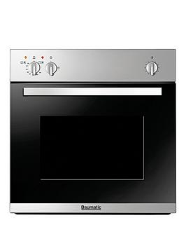 Baumatic Bo610.5Ss 60Cm BuiltIn Single Gas Oven  Stainless Steel