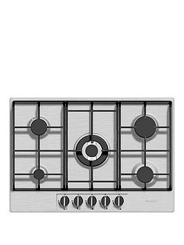 baumatic-bhg720ss-70cm-built-in-gas-hob-stainless-steel