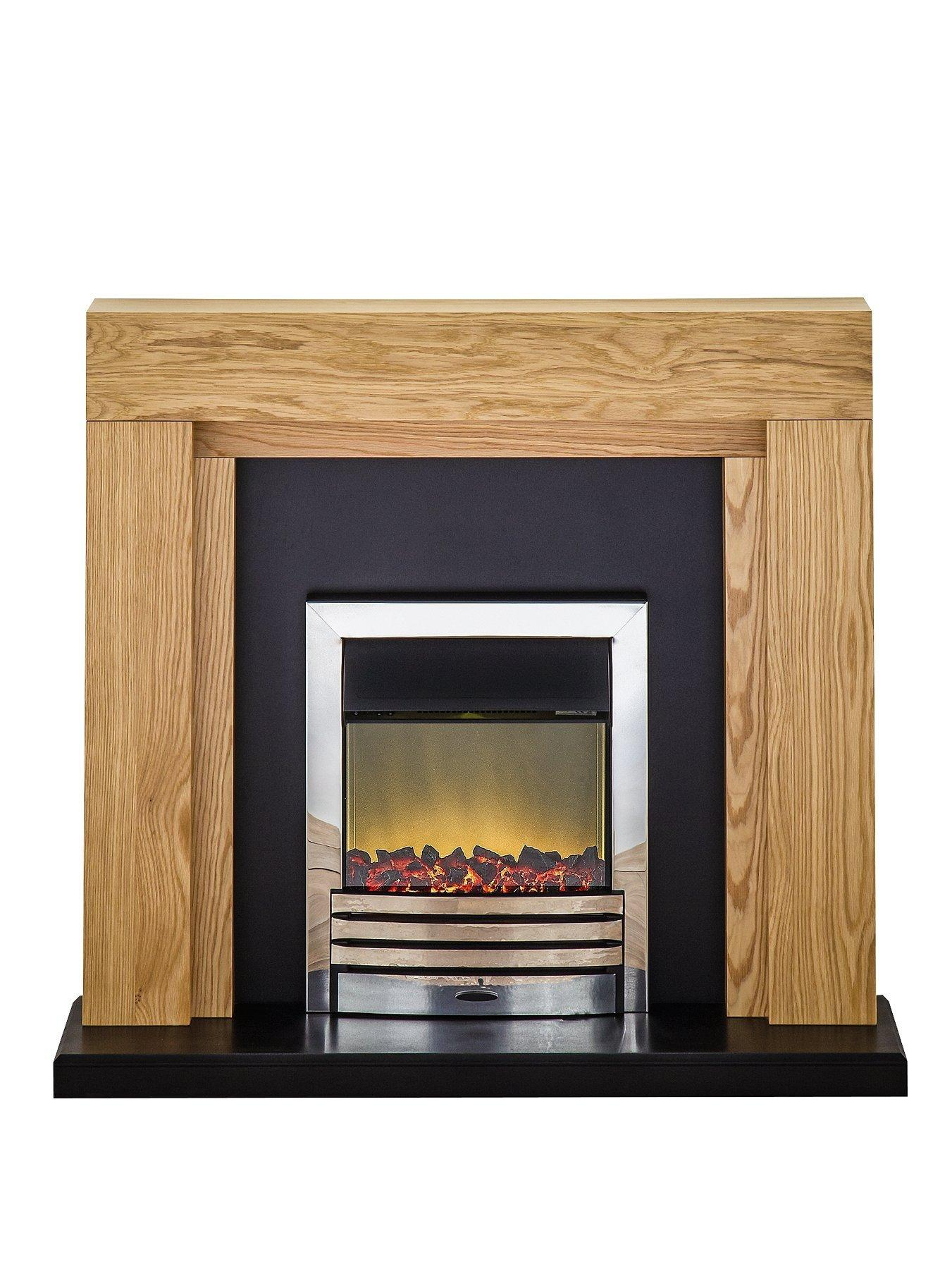 Compare prices for Adam Fire Surrounds Montana Electric Fireplace Suite