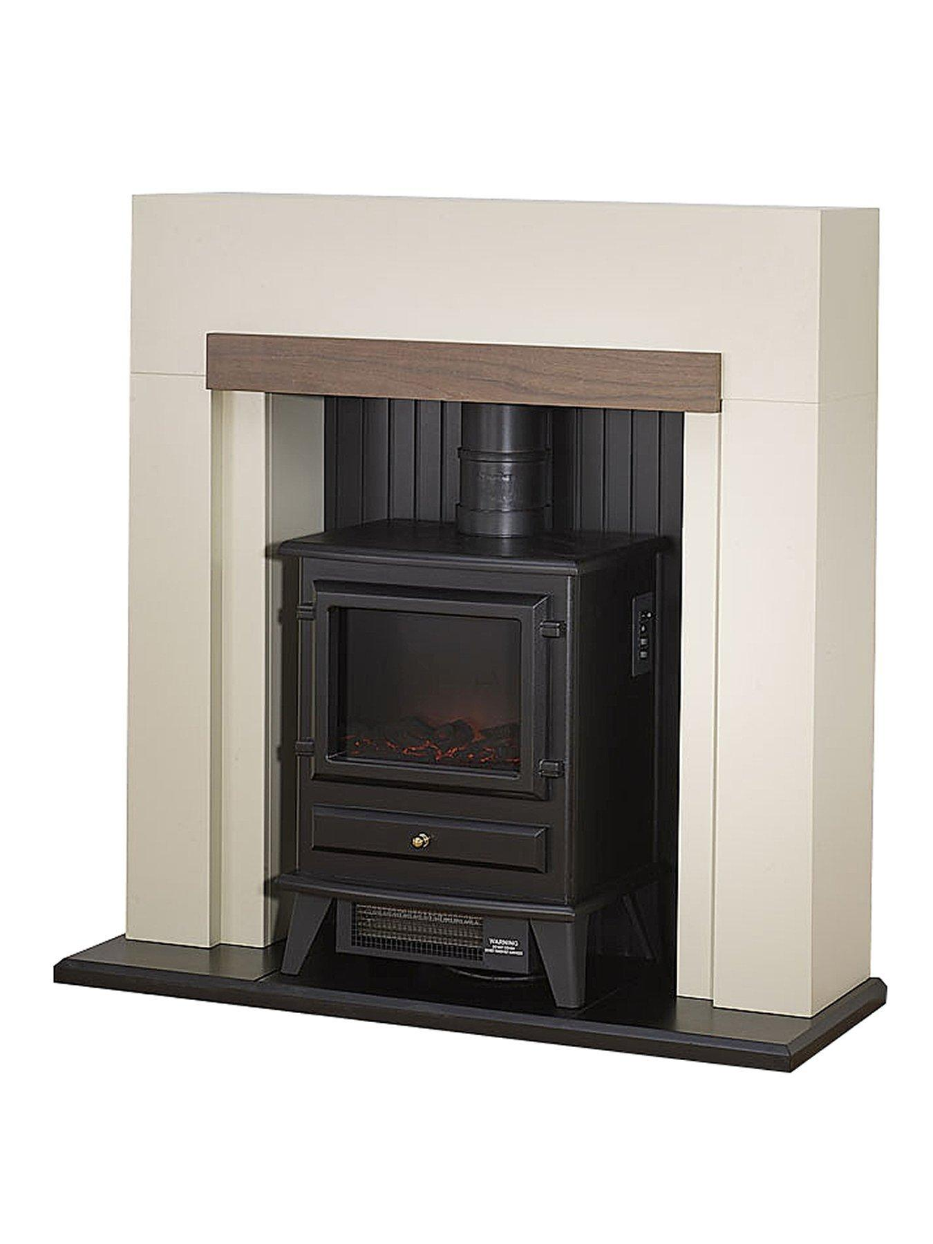 Compare prices for Adam Fire Surrounds Salzberg Electric Fire Suiteplace With Stove