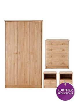 banbury-4-piece-package-3-door-wardrobe-4-drawer-chest-and-2-bedside-cabinets