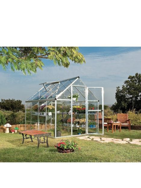 canopia-by-palram-harmony-6-x-8ft-greenhouse-silver