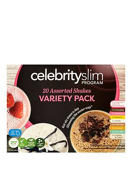 Celebrity Slim Celebrity Slim 20 Shake Variety Pack Picture