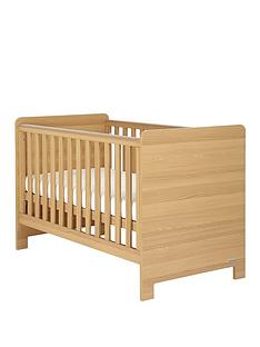 mamas-papas-haxby-cot-bed-oak