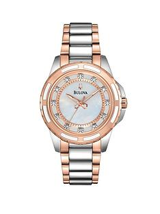 bulova-diamond-set-dial-bicolour-bracelet-ladies-watch