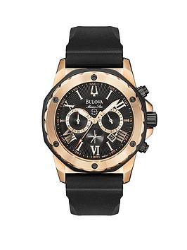 bulova-marine-star-chronograph-rose-gold-tone-mens-watch