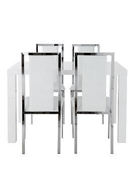 atlantic-120-cm-gloss-dining-table-4-atlantic-chairs