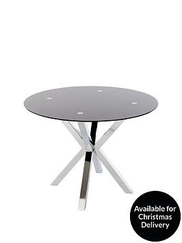 chopstick-100cm-round-glass-table-black
