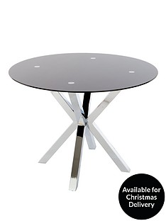 chopstick-100cm-round-glass-table-blacknbsp