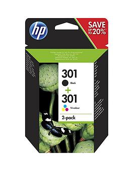hp-301-black-and-tri-color-original-ink-cartridges
