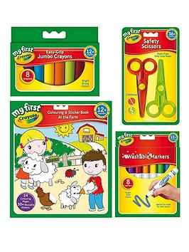 Crayola Crayola My First Stationery Bundle Picture