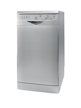 indesit-ecotimenbspdsr15bs-10-place-slimline-dishwasher-silver