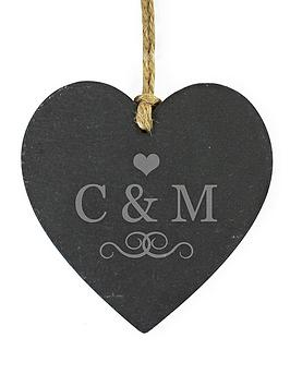 personalised-love-initials-slate-heart